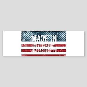 Made in West Roxbury, Massachusetts Bumper Sticker