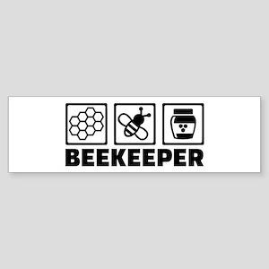 Beekeeper Sticker (Bumper)