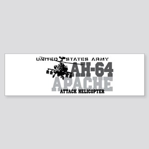 Army Apache Helicopter Sticker (Bumper)