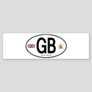 gb-oval-7 Bumper Sticker
