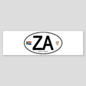 za-oval-2 Bumper Sticker