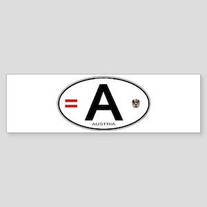 a-oval-5 Bumper Sticker