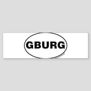 Gettysburg, GBURG Bumper Sticker