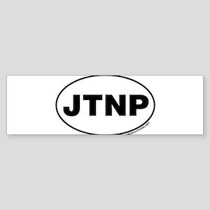 Joshua Tree National Park, JTNP Bumper Sticker