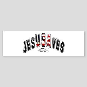USA Jesus Bumper Sticker