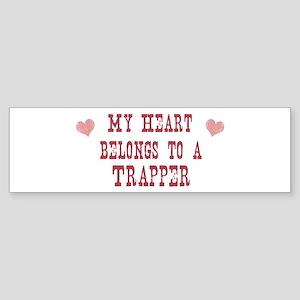 Belongs to Trapper Bumper Sticker