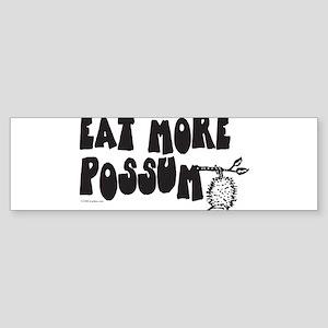 Eat More Possum Sticker (Bumper)