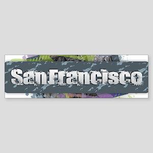 San Francisco Design Bumper Sticker