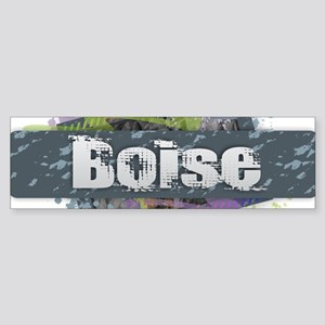 Boise Design Bumper Sticker