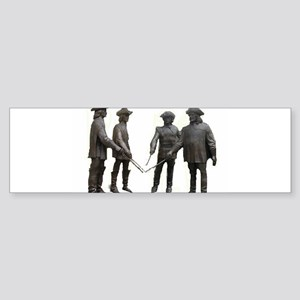 French Musketeers Sticker (Bumper)