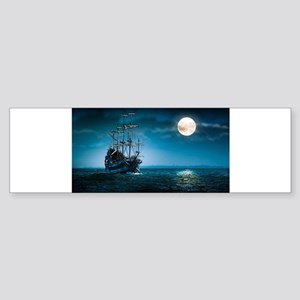 Moonlight Pirates Bumper Sticker