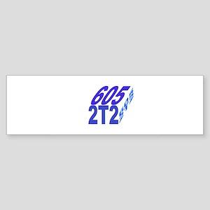 605/2t2 cube Bumper Sticker