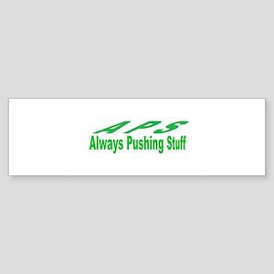 pushing stuff Bumper Sticker