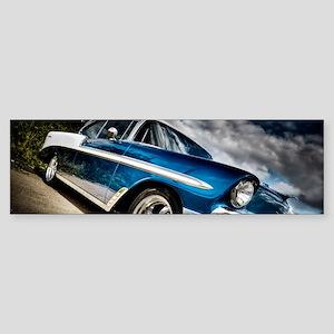 Retro car Bumper Sticker