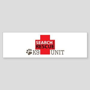 K9-Unit Bumper Sticker
