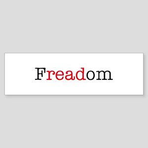 Freadom Bumper Sticker