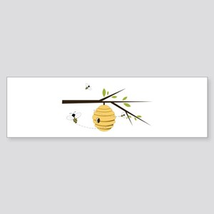 Beehive Bumper Sticker