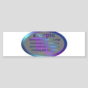 Scorpio Sticker (Bumper)