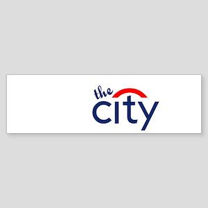 The City Bumper Sticker
