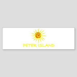 Peter Island, B.V.I. Bumper Sticker
