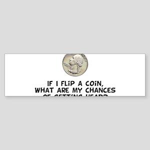 Flip a Coin Bumper Sticker