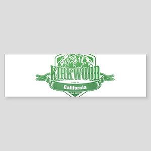 Kirkwood California Ski Resort 3 Bumper Sticker
