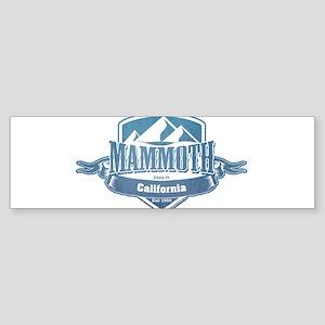 Mammoth California Ski Resort 1 Bumper Sticker