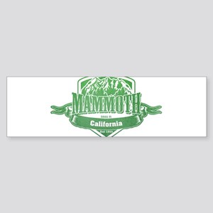 Mammoth California Ski Resort 3 Bumper Sticker