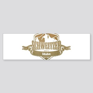 Schweitzer Idaho Ski Resort 4 Bumper Sticker