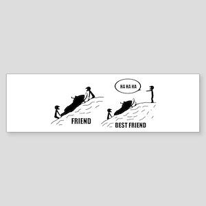 Friend / Best Friend Bumper Sticker