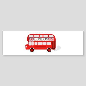 London Double Decker Bumper Sticker