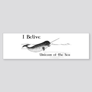 I Believe - Unicorn of the Sea Sticker (Bumper)