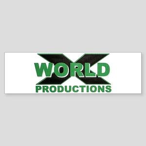 World X Bumper Sticker