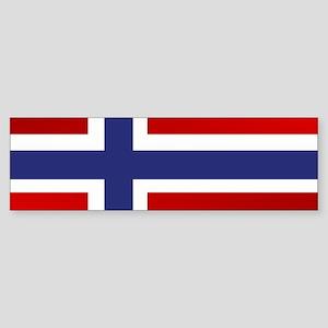 Simply Norwegian Bumper Sticker
