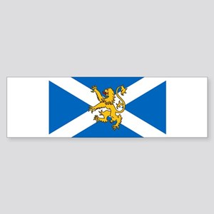 Flag of Scotland - Lion Rampant Bumper Sticker