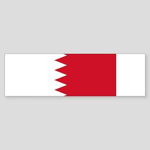 Bahrain Flag Bumper Sticker