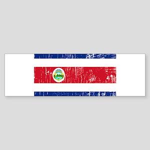 Vintage Costa Rica Bumper Sticker