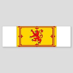 Scottish Royal Rampant Lion Bumper Sticker