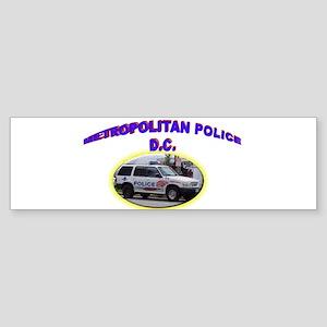 Washington D C Polic Sticker (Bumper)