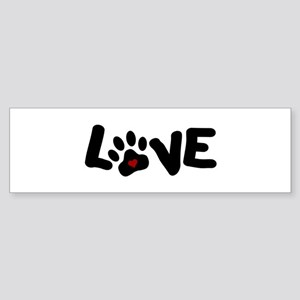 Love (Pets) Sticker (Bumper)
