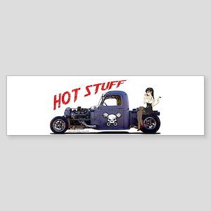 Hot Rod Truck Sticker (Bumper)