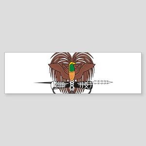Papua new Guinea Coat Of Arms Sticker (Bumper)