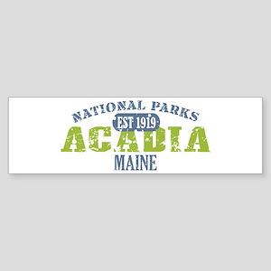 Acadia National Park Maine Sticker (Bumper)