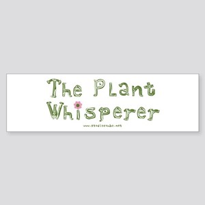 The Plant Whisperer Bumper Sticker