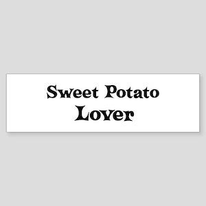 Sweet Potato lover Bumper Sticker