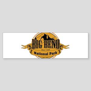 big bend 3 Bumper Sticker
