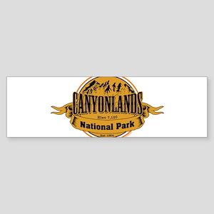 canyonlands 2 Bumper Sticker