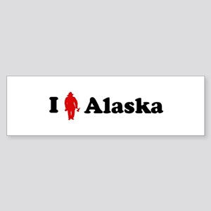 Alaska Firefigher Bumper Sticker
