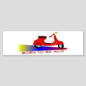 Born To Be Mild Bumper Sticker