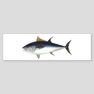 Bluefin Tuna illustration Bumper Sticker